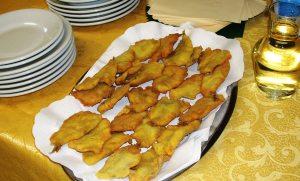 Sarde spinate fritte