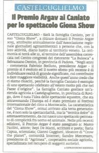 La Voce di Rovigo 11 dicembre 2015