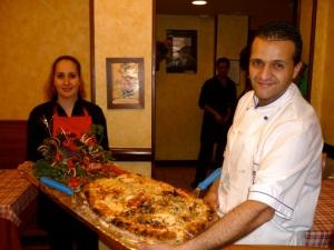 Elisa e Marco Pizzeria Positano 10 gennaio 2013