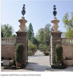 Ingresso Orto Botanico Università Padova