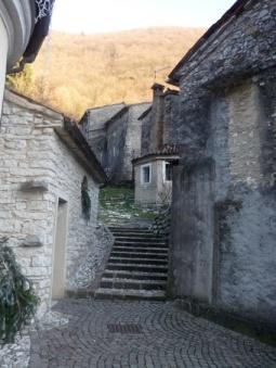 Borgo Stramare particolare riprodotto presepio
