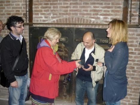 Consegna penna ricordo ARGAV a Francesco Beltrame CosedelPo