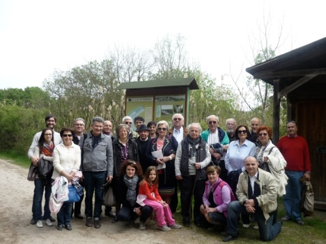 Soci ARGAV Giardino Botanico Litoraneo Porto Caleri gruppo