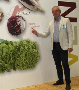 Giuseppe Boscolo Palo con Radicchio Chioggia