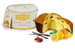 Panettone dei Presìdi Fraccaro Slow Food con ingredienti