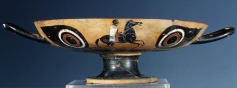 1. 31 MUVIT Museo del Vino, Fondazione Lungarotti, Torgiano (PG) - Kylix, Vulci, fine sec. VI a.C._a