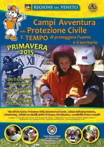 Campi Avventura Protezione Civile Veneto