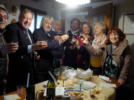 Brindisi vini vigneto Baver