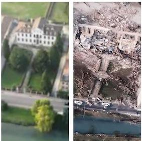 Villa Fini Dolo prima_dopo tornado
