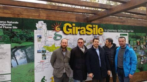 1555-2015 - Corazzari visita Parco Fiume Sile