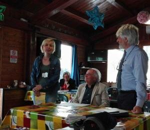 Roberta Franco saluta i soci ARGAV