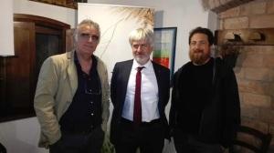 da sinistra, Giorgio Prosdocimi Gianquinto, Fabrizio Stelluto e Francesco Sini
