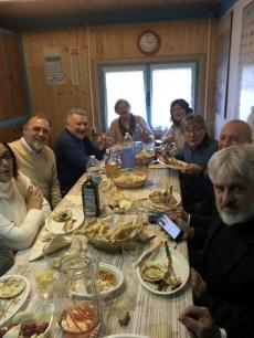 16 novembre 2019, ad organizzare l'iniziativa, il socio Argav Giorgio Pavan, membro del bilancio Paradiso
