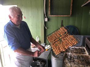16 novembre 2019, a preparare il lauto pranzo il grande chef Giuliano Poli
